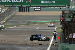 Авария: Антонио Джовинацци, Sauber C36