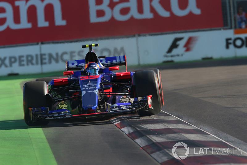 10 місце — Карлос Сайнс, Toro Rosso — 57