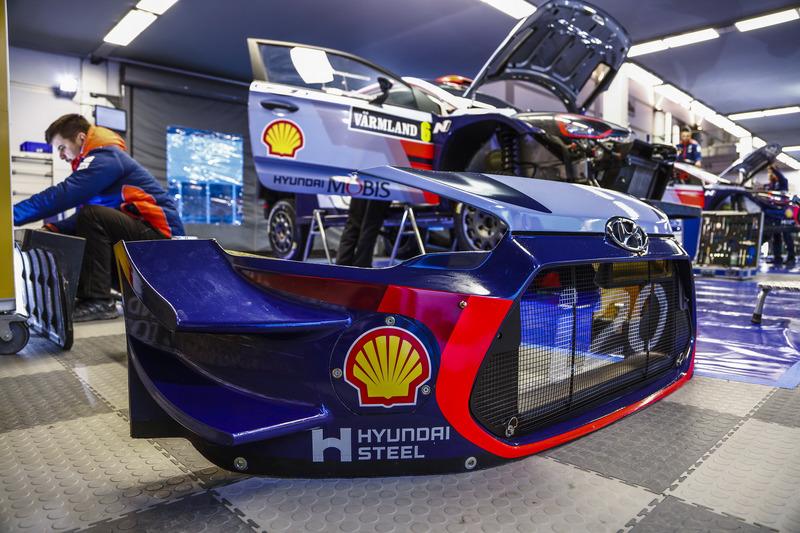 Detalle del Hyundai i20 Coupe WRC, Hyundai Motorsport
