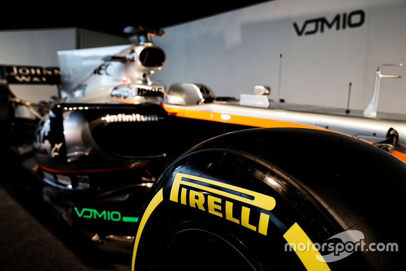 Force India VJM10: Pirelli-Reifen