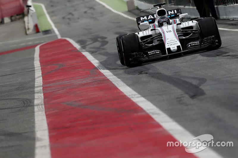 Ленс Стролл, Williams FW40 Mercedes