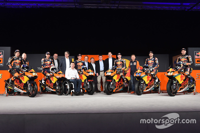 Red Bull KTM Factory Racing pilotos