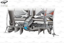 McLaren MP4-24 2009 double diffuser