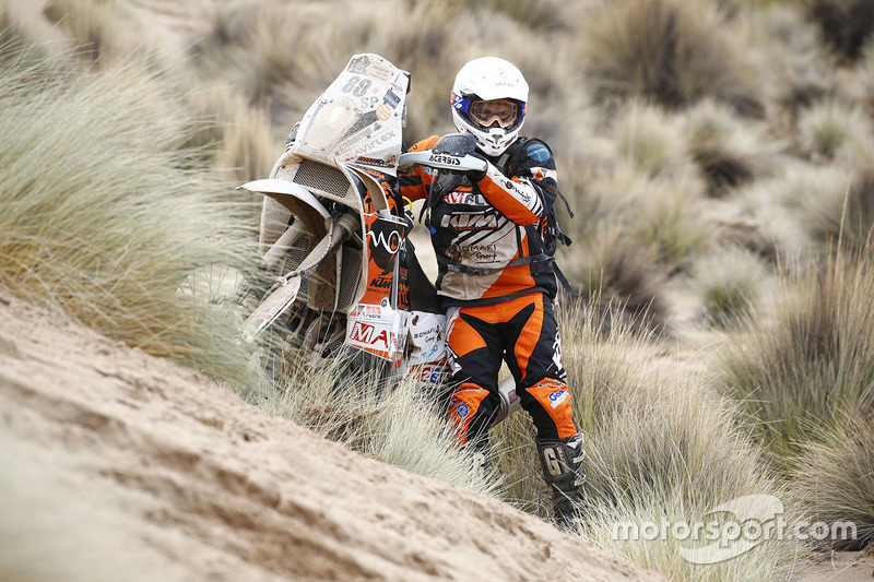 #88 KTM: Frantz Roquesalane
