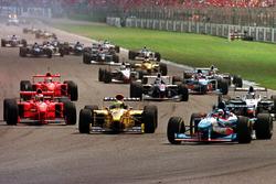 Start zum Grand Prix von Deutschland 1997 in Hockenheim