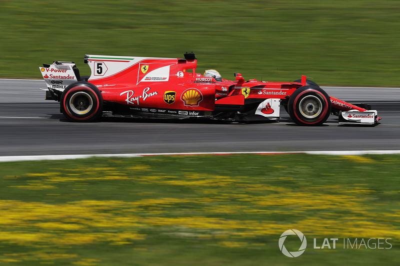 Ferrari, por 32° ocasión seguida en los puntos