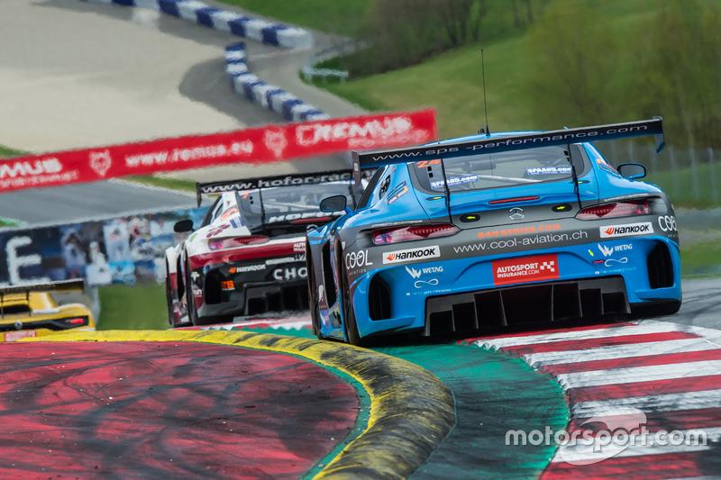 #24 SPS Automotive Performance, Mercedes AMG GT3: Alexandre Coigny, David Iradj Alexander, Richard Feller
