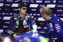 Maverick Viñales, Yamaha Factory Racing, et Ramon Forcada