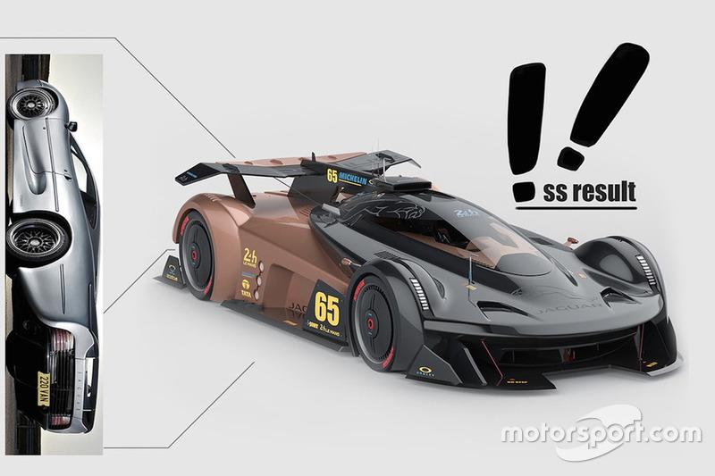 Концепт Jaguar SS-107 для «24 часов Ле-Мана»