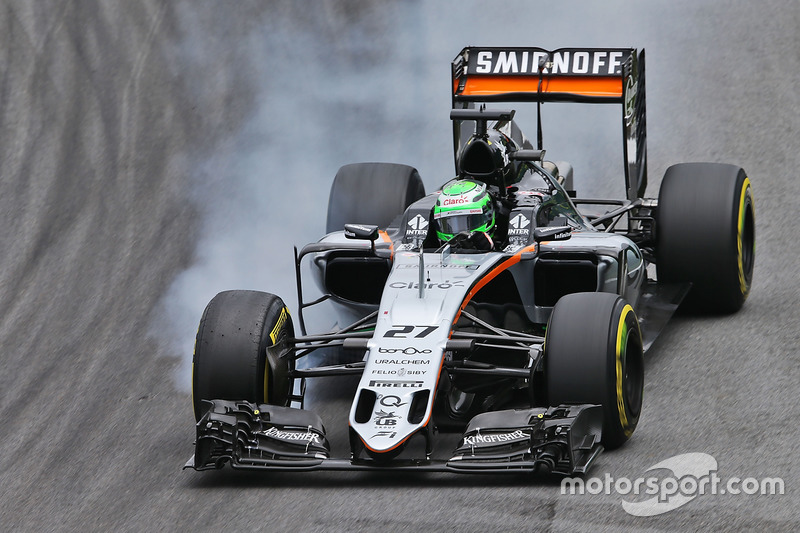 Nico Hülkenberg, Sahara Force India F1, 1.12.104