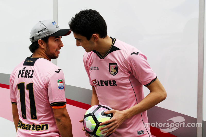 Sergio Perez, Sahara Force India F1, Esteban Ocon, Sahara Force India F1