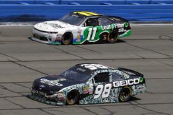 Casey Mears, Biagi-DenBeste Racing Ford and Blake Koch, Kaulig Racing Chevrolet