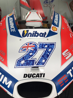 The Bike Of Casey Stoner Ducati Team