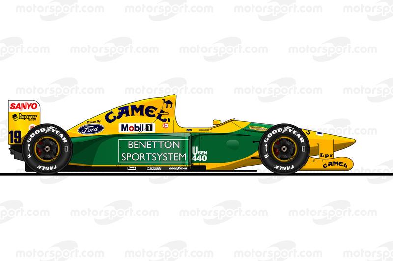Michael Schumacher, Benetton B192, 1992