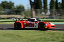 #91 Ferrari 458 Italia-GT3, Scuderia Baldini 27 Network: Casè-Tempesta