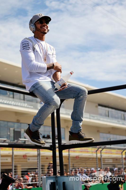 Lewis Hamilton, Mercedes AMG F1 bei der Fahrerparade