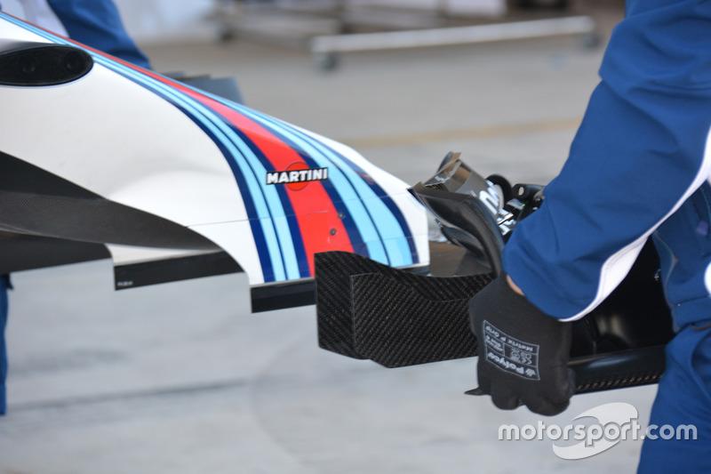 Williams FW38: Frontflügel