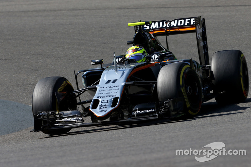 5. Sergio Perez, Sahara Force India F1 VJM09