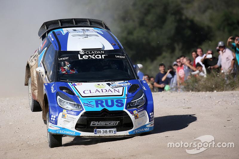 Маркос Лигато и Рубен Гарсия, Citroën DS3 WRC