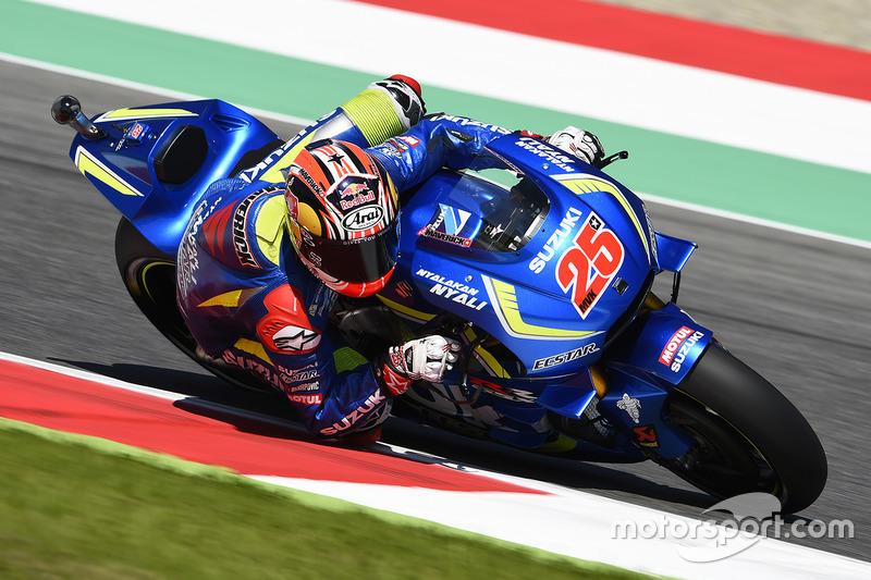 Maverick Viñales (Suzuki) 6. Platz
