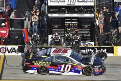 Aric Almirola, Stewart-Haas Racing, Ford Fusion Smithfield/Waffle House