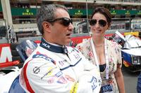 Juan Pablo Montoya, United Autosports, met vrouw Connie