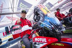 #14 Monster Energy Honda Team: Michael Metge