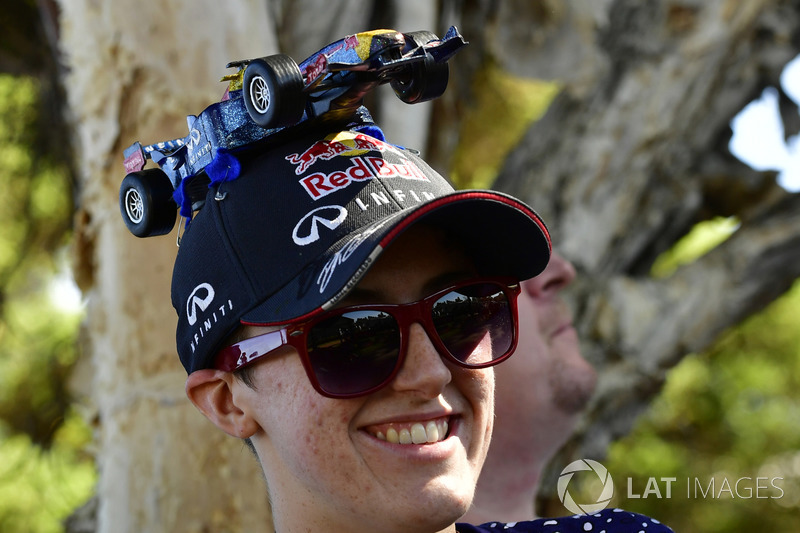 Topi fans Red Bull Racing