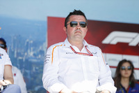 Eric Boullier, Racing Director, McLaren, on stage