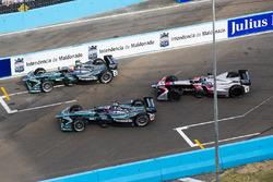 Nelson Piquet Jr., Jaguar Racing, Mitch Evans, Jaguar Racing & Edoardo Mortara, Venturi Formula E Team