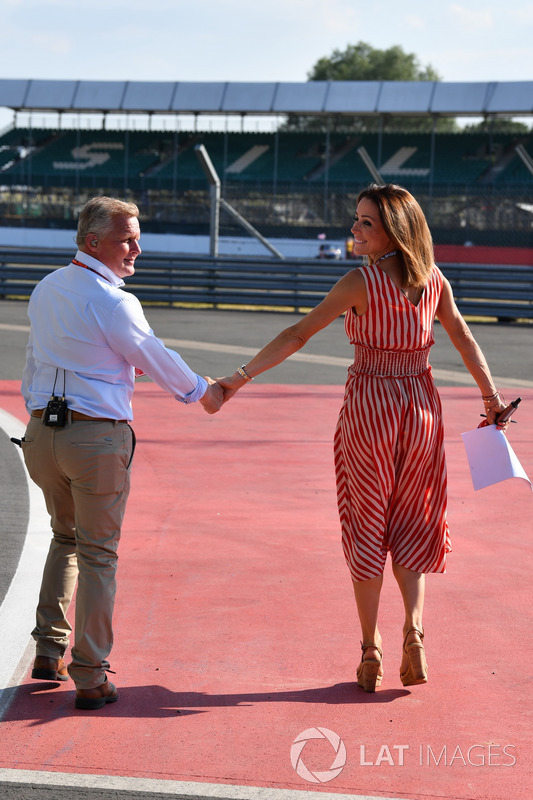 Johnny Herbert, Sky TV e Natalie Pinkham, Sky TV