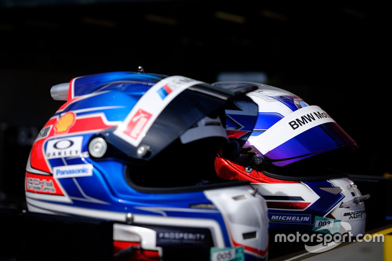 Casco de Martin Tomczyk, BMW Team MTEK