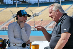 Gabby Chaves, Harding Racing met teammanager Larry Curry