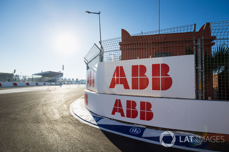 ABB logos around the circuit