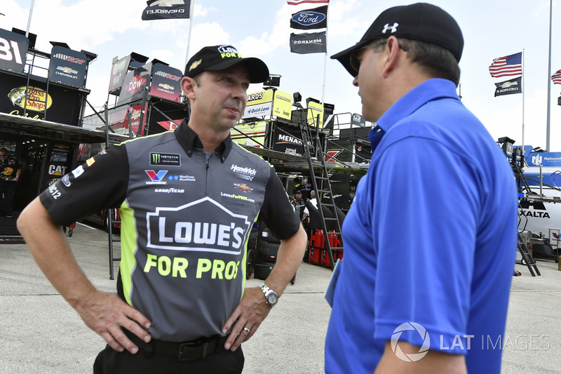 Chad Knaus e Jeff Andrews