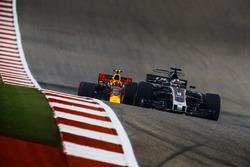 Romain Grosjean, Haas F1 Team VF-17, Max Verstappen, Red Bull Racing RB13