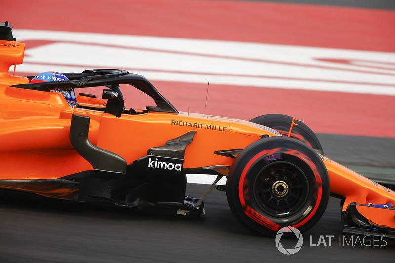 Второй вариант Halo на McLaren MCL33