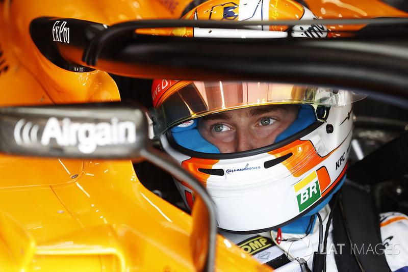 16 місце — Стоффель Вандорн, McLaren — 20