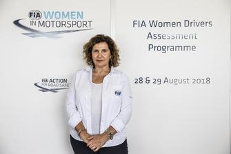 Michele Mouton - FIA Women Drivers Assessment Programme