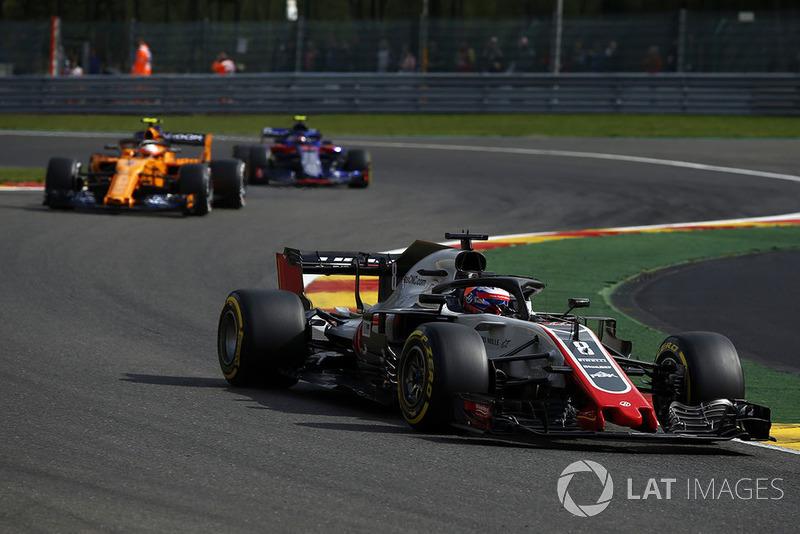 13. Romain Grosjean, Haas F1 Team VF-18