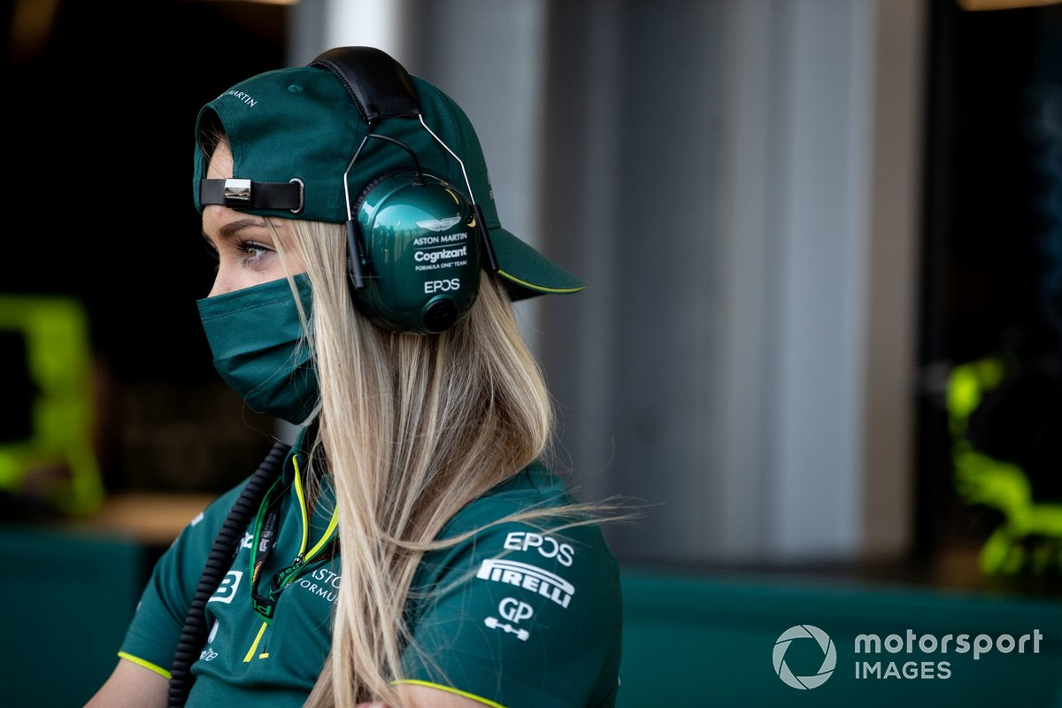 Jessica Hawkins, Driver ambassador, Aston Martin