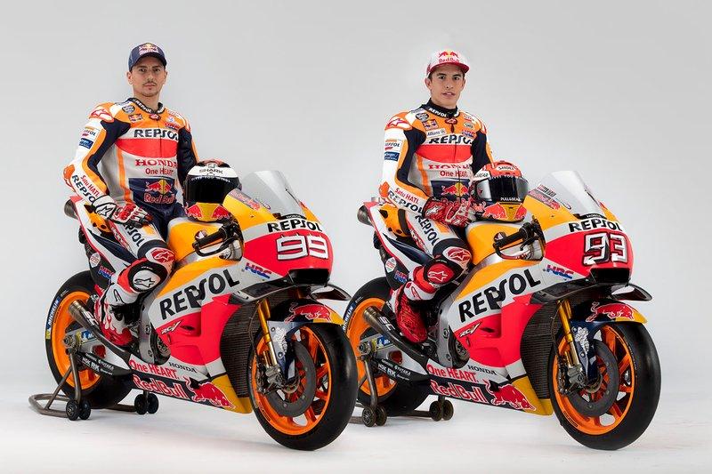 Marc Marquez, Repsol Honda Team, Jorge Lorenzo, Repsol Honda Team