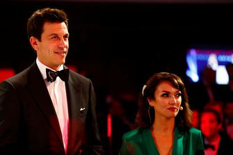 Toto Wolff with Louise Beckett
