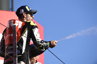 Podium: second place Cal Crutchlow, Team LCR Honda