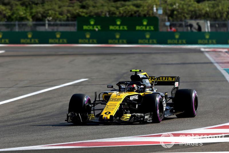 7 місце — Карлос Сайнс, Renault. Умовний бал — 13,15