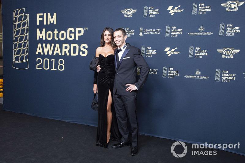 Valentino Rossi, Yamaha Factory Racing and girlfriend