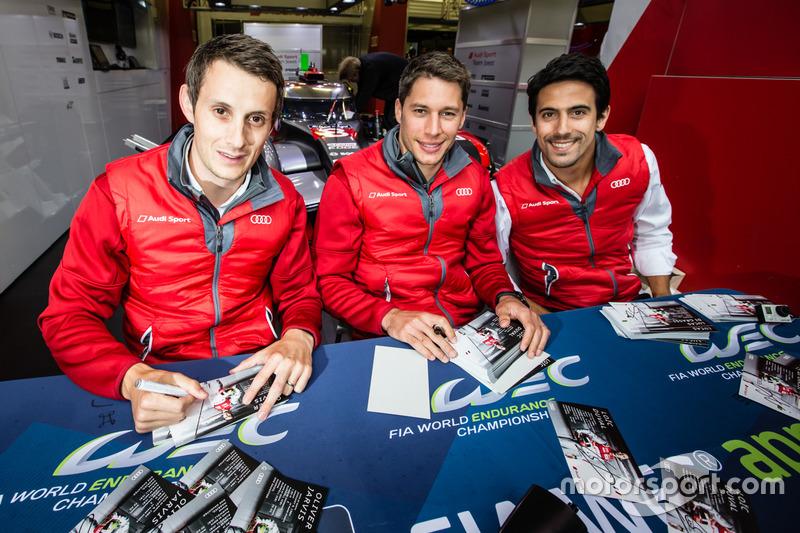 #8 Audi Sport Team Joest Audi R18: Лукас ді Грассі, Лоік Дюваль, Олівер Джарвіс