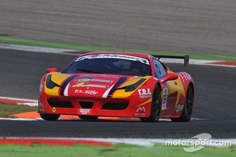 Ferrari 458 Italia-GTCup #159, Master-KR Racing, Zanardini - Sauto