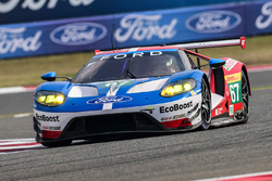 #67 Ford Chip Ganassi Racing Team UK, Ford GT: Andy Priaulx, Harry Tincknell