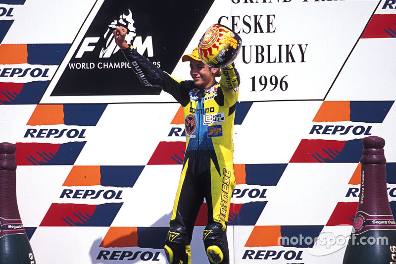 Podium: Sieger Valentino Rossi